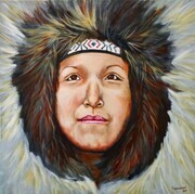 Warmth (Inuit Girl)