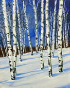 Winter Birch II